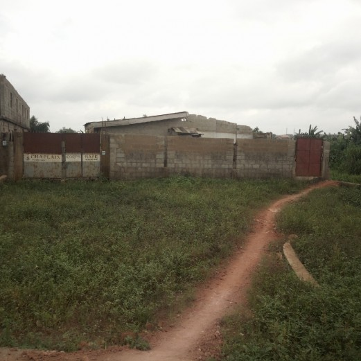 Bare Land with Uncompleted Development for Joint Venture