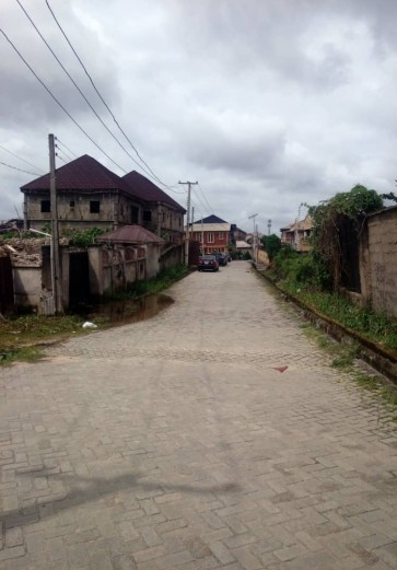 700 Sqm Plot within Estate at Gbagada for Joint Vent