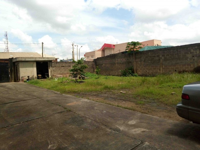 700 Sqm  of Developed Land at Oregun Available for JV